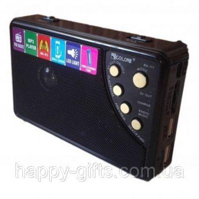 Радиоприемник — портативная акустика GOLON RX-111
