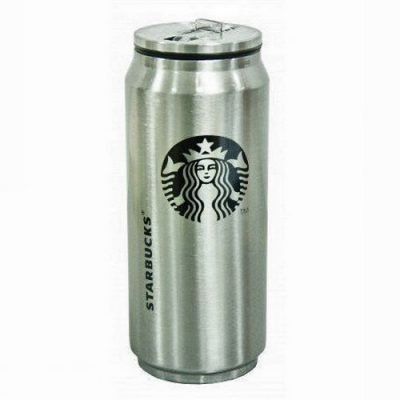 Термос,Термокружка в виде банки Starbucks 450 ml