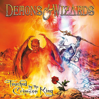 DEMONS & WIZARDS - Touched by the crimson
