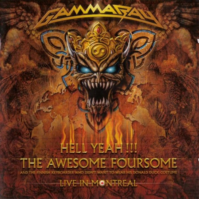 Gamma Ray - Hell yeah !!! Live in Montreal (2cd)