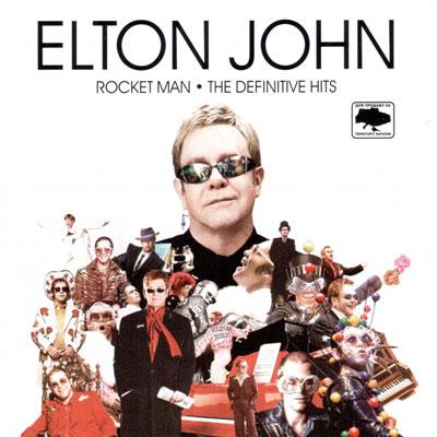Elton John - Rocket man . The definitive hits