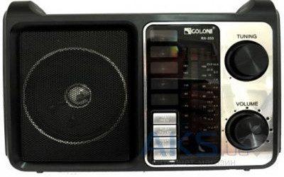 Радиоприемник — портативная акустика GOLON RX-333BT(Bluetooth)  Радиоприемник — портативная акустика GOLON RX