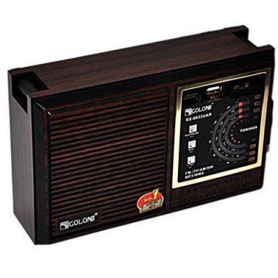 Радиоприемник +USB,Флеш плеер GOLON QR-133UAR